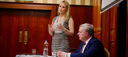 In Cookstown meeting with Minister Helen McEntee in March 2018 for update on Brexit with a particular emphasis on the economy, agriculture, funding programmes and citizen's rights.